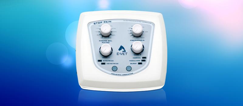 Electroanalgesia por corrientes Tens con Stop Pain.