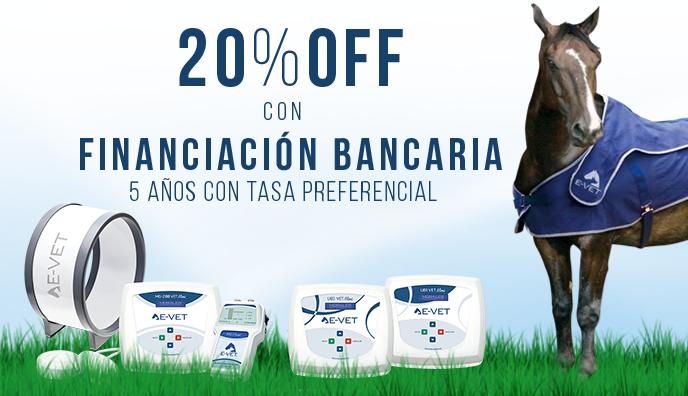 ¡20% OFF con FINANCIACIÓN BANCARIA!